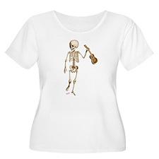 Ukulele Skeleton T-Shirt