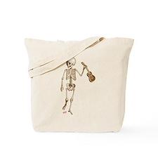Ukulele Skeleton Tote Bag