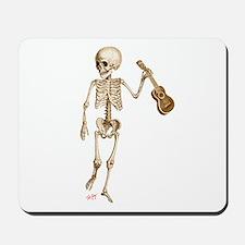 Ukulele Skeleton Mousepad