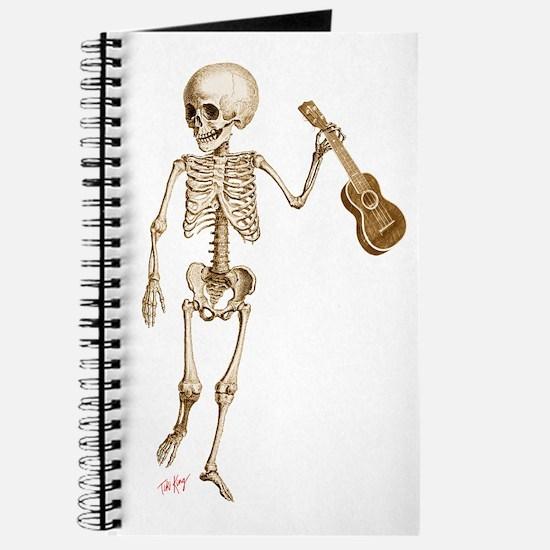 Ukulele Skeleton Journal