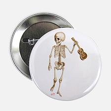 """Ukulele Skeleton 2.25"""" Button"""