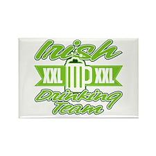 Irish XXL Drinking Team Rectangle Magnet
