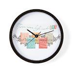 goDigitalScrapbooking Wall Clock
