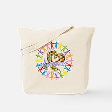 Autism Unite in Awareness Tote Bag