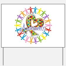 Autism Unite in Awareness Yard Sign