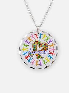 Autism Unite in Awareness Necklace