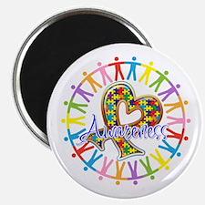 Autism Unite in Awareness Magnet