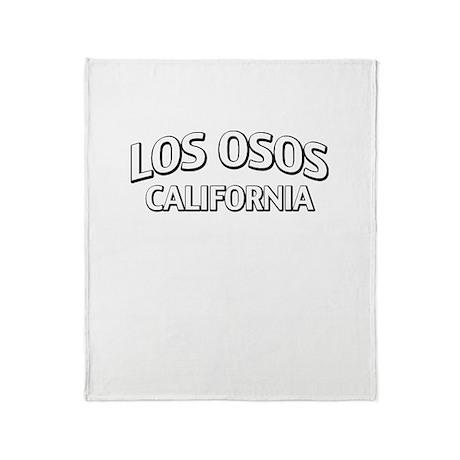 Los Osos California Throw Blanket