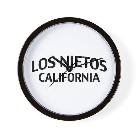 Los Nietos California Wall Clock