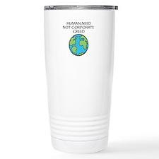Occupy corporations Travel Mug