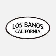 Los Banos California Patches