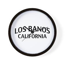 Los Banos California Wall Clock