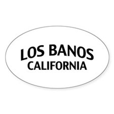Los Banos California Decal