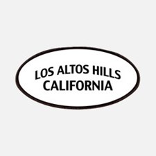 Los Altos Hills California Patches
