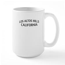 Los Altos Hills California Mug