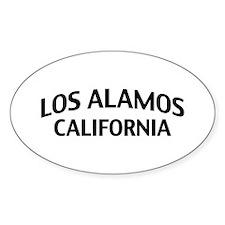 Los Alamos California Decal