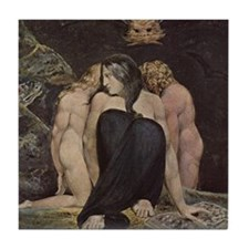 Dark Moon Hekate Tile Coaster