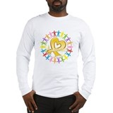 Cancer awareness Long Sleeve T-shirts