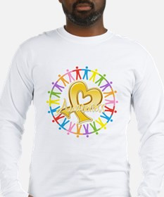 Childhood Cancer Awareness Long Sleeve T-Shirt