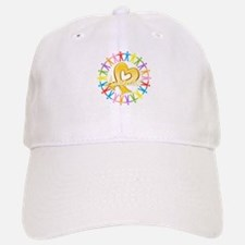 Childhood Cancer Awareness Baseball Baseball Cap