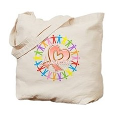 Endometrial Cancer Unite Tote Bag