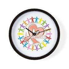 Endometrial Cancer Unite Wall Clock