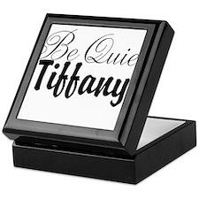 Be quiet, Tiffany Keepsake Box