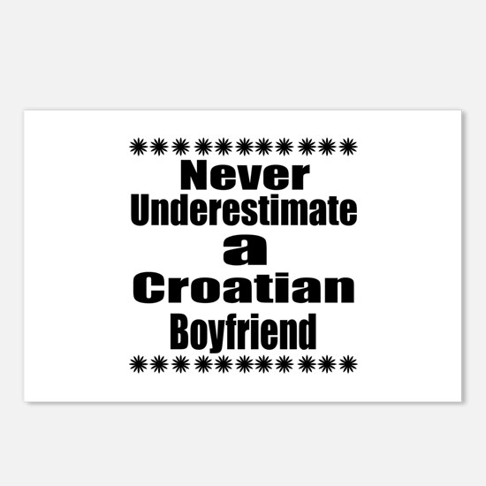 Never Underestimate A Cro Postcards (Package of 8)