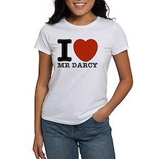 I Love Darcy - Jane Austen Tee
