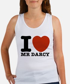 I Love Darcy - Jane Austen Women's Tank Top