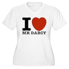 I Love Darcy - Jane Austen T-Shirt