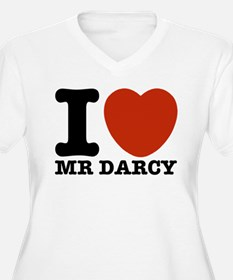 I Love Darcy - Jane Austen T-Shirt