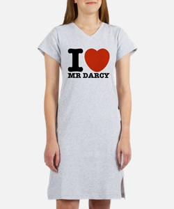 I Love Darcy - Jane Austen Women's Nightshirt
