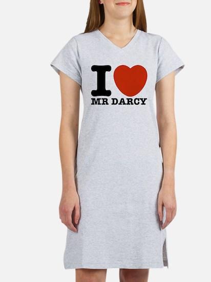 I Love Darcy - Jane Austen Women's Nightshirt