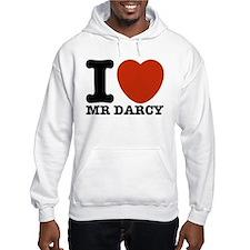 I Love Darcy - Jane Austen Hoodie