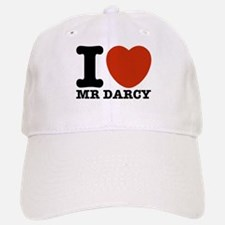 I Love Darcy - Jane Austen Baseball Baseball Cap