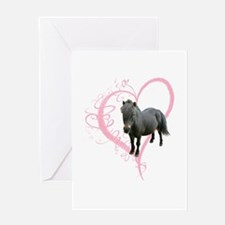 Cute little Pony Greeting Card