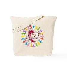 Head Neck Cancer Unite Tote Bag