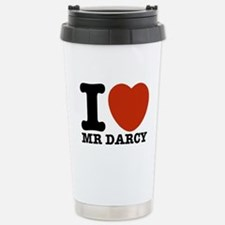 I Love Darcy - Jane Austen Stainless Steel Travel