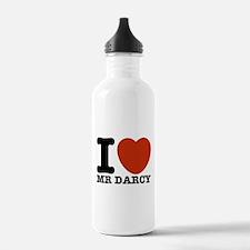 I Love Darcy - Jane Austen Water Bottle