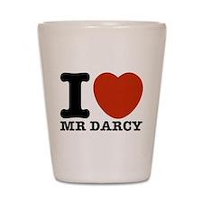I Love Darcy - Jane Austen Shot Glass