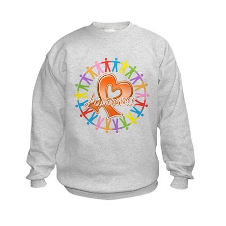 Leukemia Unite Awareness Kids Sweatshirt