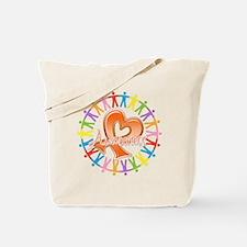 Leukemia Unite Awareness Tote Bag