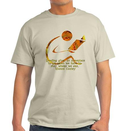 ReaderGoldenFront4Dark T-Shirt