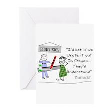 Pharmacy Greeting Cards (Pk of 20)