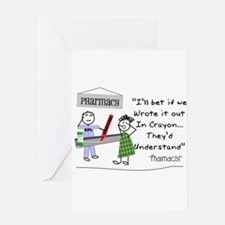 Pharmacy Greeting Card