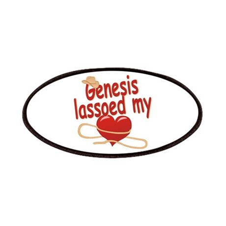 Genesis Lassoed My Heart Patches