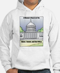 Woman's Place Hoodie