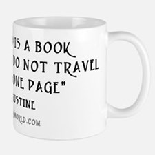 World is a book - White Mugs