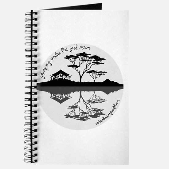 Cute Moon themed Journal
